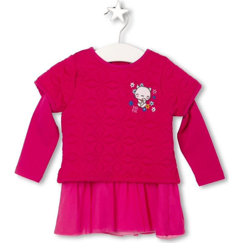 215feb236d9 Μακρυμάνικο Φορεματάκι Kokeshi tuc tuc | LimonetiKids