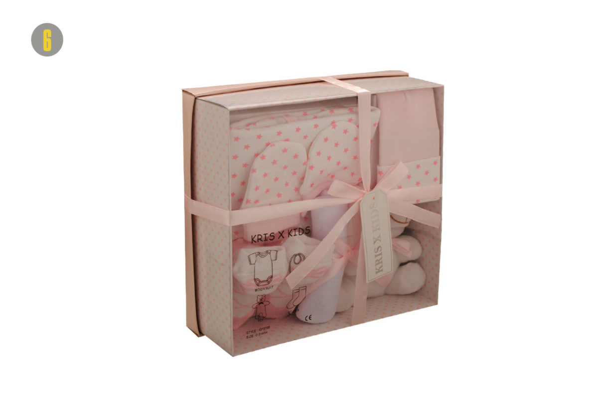 9b15a790d40 Δείτε σετ δώρου για νεογέννητα με κορμάκια και άλλα αξεσουάρ ...
