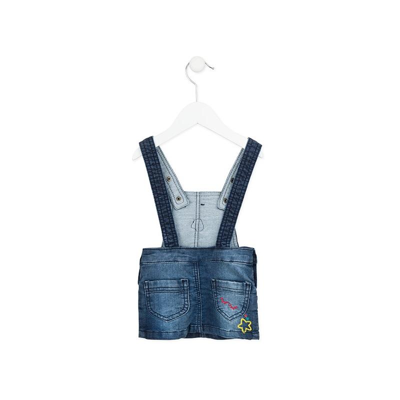 273dd7c65e23 Βρεφικό Φορεματάκι Σαλοπέτα Losan | LimonetiKids