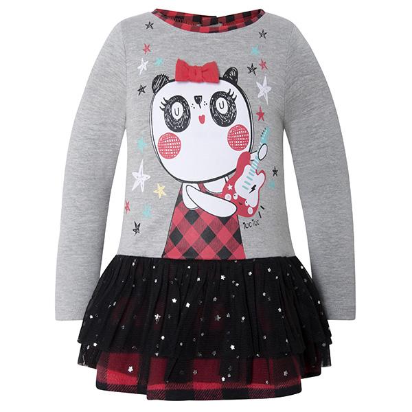 b63435fbe37 Κοριτσίστικο Φόρεμα tuc tuc με Τούλι | LimonetiKids