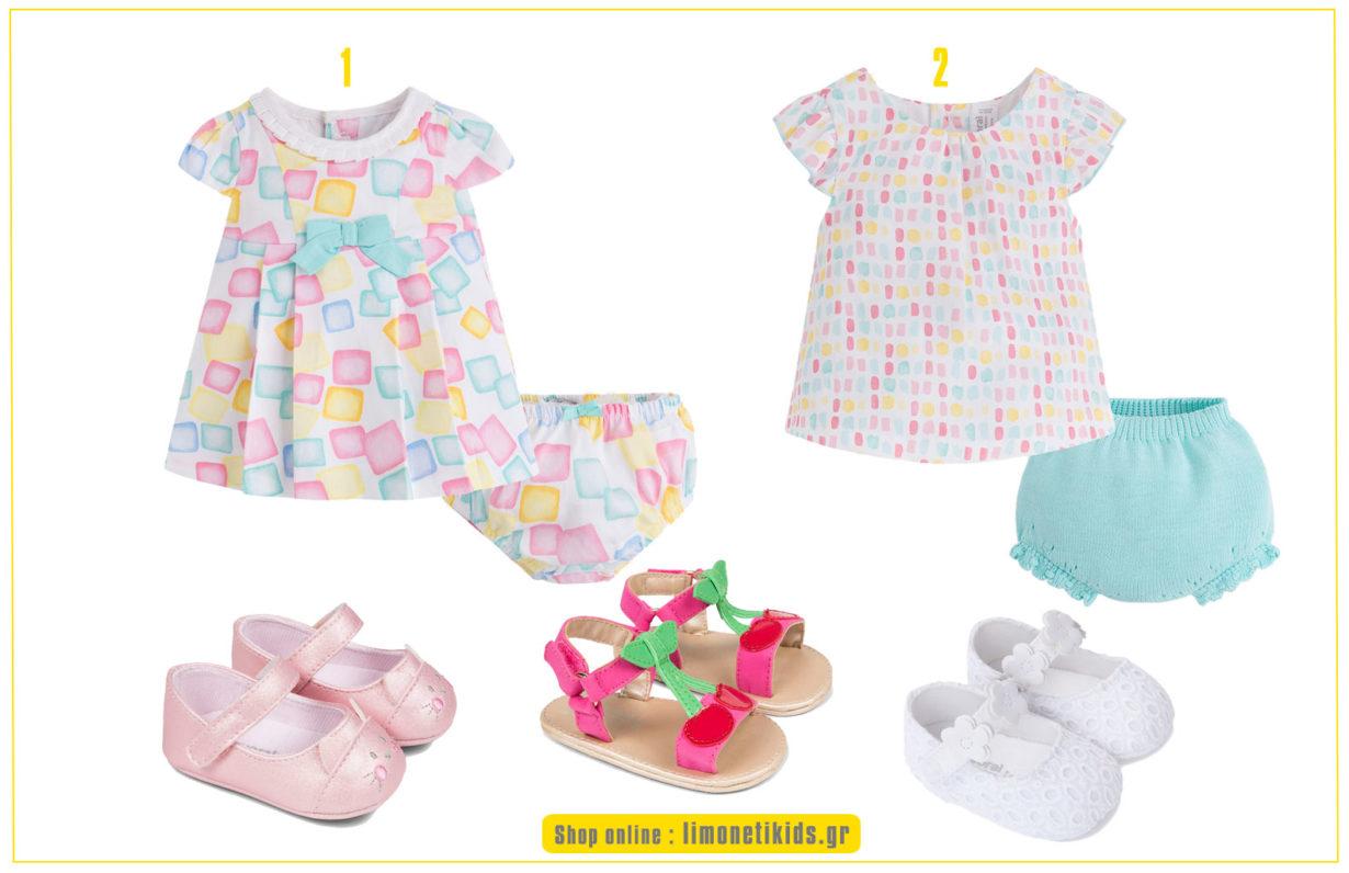 dc4f6a9cd84 Παιδικά ρούχα για κορίτσια, που θα εντυπωσιάσουν από την πρώτη στιγμή την  ημέρα της βάπτισης