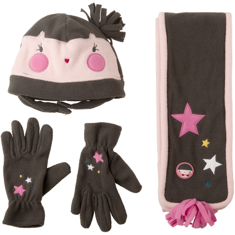 girls-fleece-set-gloves-set-skoufos-kaskol-gantia-funny-circus-tuc-38329