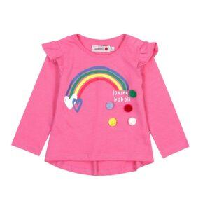 237013-3627-boboli-blouza-makri-maniki-rainbow-roz