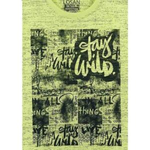 913-1009aa-losan-stampa-stay-wild-thing-tshirt-agori