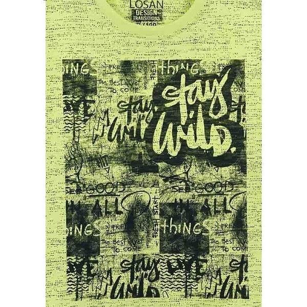 913-1009aa-losan-stampa-stay-wild-thing-tshirt-agori