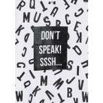 914-1201AA-losan-stampa-grammata-dont-speak-sssh-mplouza-koritsi