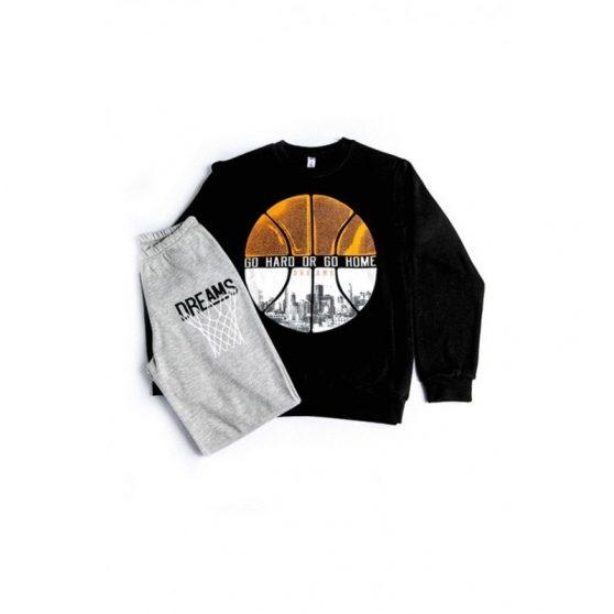 19809-dreams-pijames-ximerines-balla-basket-boy-mavro