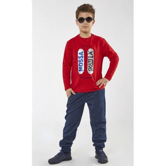199768-hashtag-boy-blouza-makrimaniki-pagieta-mossa-skate-kokkino-199778-hashtag-boy-panteloni-fouter-ble-skouro