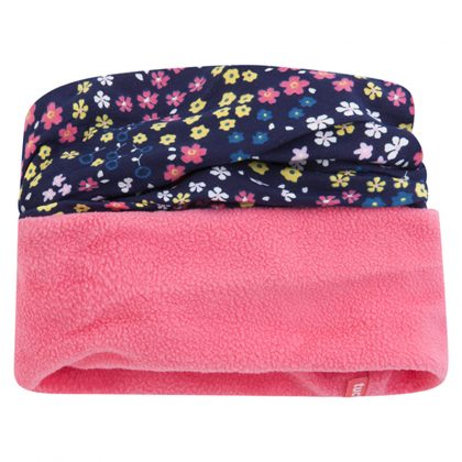 50602-tuctuc-laimos-flis-pink-flowers-combined-neck-gaiter-for-girl-hanami