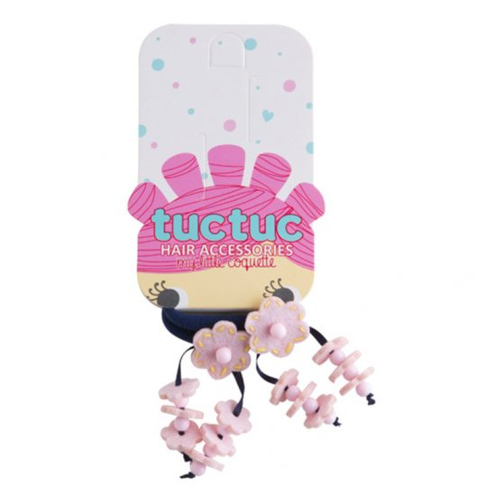 50604-tuctuc-lastoixakia-pink-flowers-2-hair-tie-set-for-girl-hanami