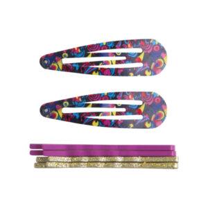 50729-tuctuc-polyxroma-tsibidkakia-mallia-pink-printed-hair-pin-set-for-girl-rainbow