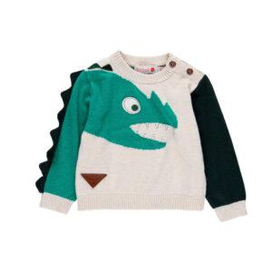 308001-boboli-poulover-agori-gri-mauro-prasino-dinosauros
