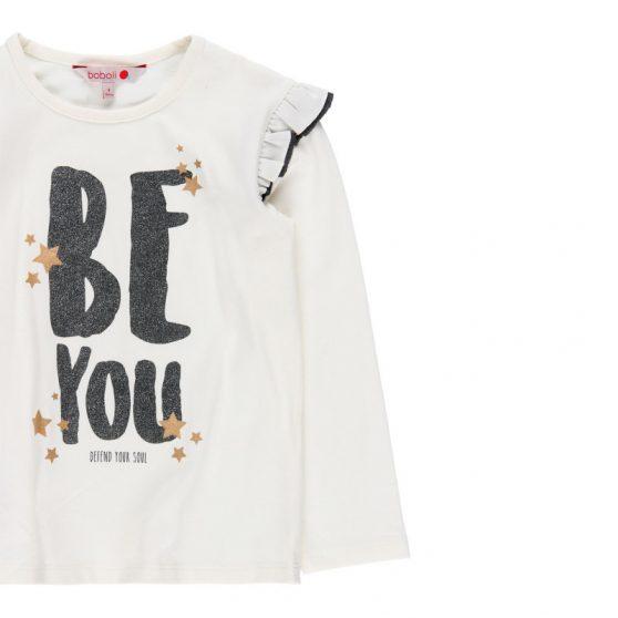 468075-boboli-tshirt-aspro-be-you-staba-koritsi-leptomeria-maniki