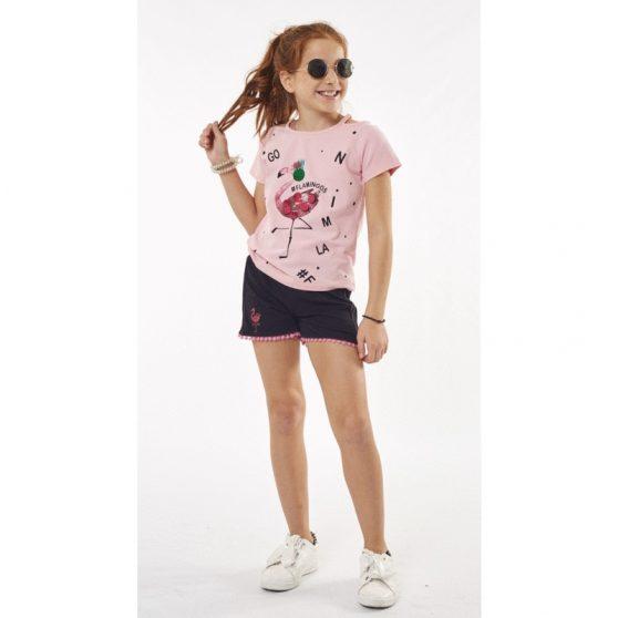 202111-evita-set-blouza-flamingos-poulies-sorts-kentima-koritsi-roz