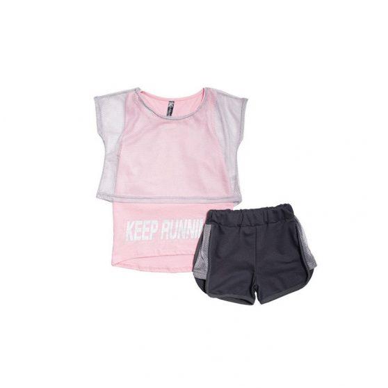 011315tr-emery-athlitiko-set-tria-temachia-blouza-tiranta-sorts-keep-running-girl-roz