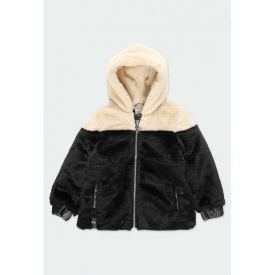 721257-boboli-gounino-jacket-dio-opseon-koukoula-roz-koritsi-mavro