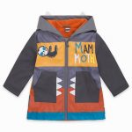 11290332-tuctuc-raincoat-with-hood-and-zipper-for-boys-grey-mammouth