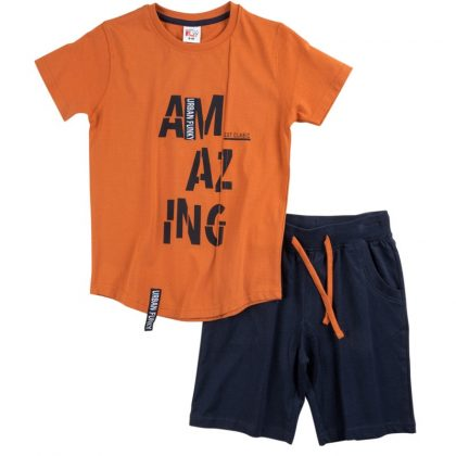 121-101115-funky-set-mako-blouza-logotipo-amazing-vermouda-tsepes-boy-portokali