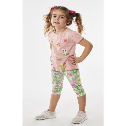 214264-evita-set-mako-blouza-koala-flamingo-kontomaniki-kolan-floral-girl-roz